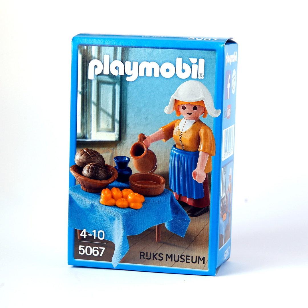 Playmobil 5067 la lechera de johannes vermeer - La lechera de vermeer ...