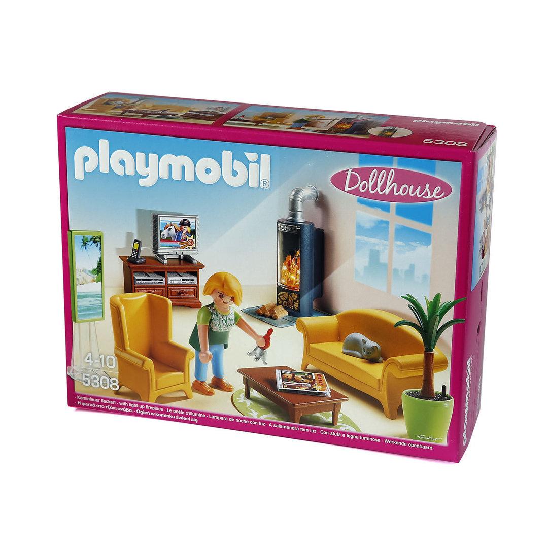 Playmobil 5308 salon casa de mu ecas - Gran casa de munecas playmobil ...