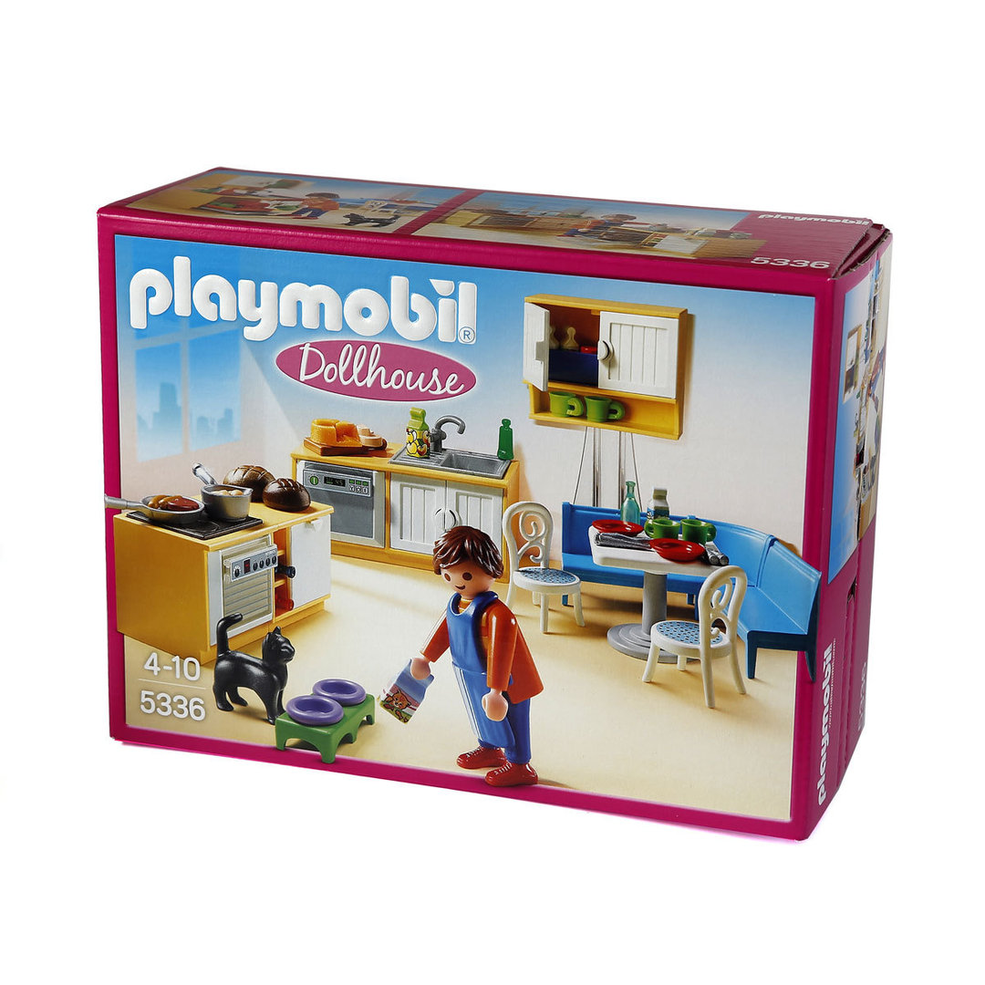 Cocina casa moderna playmobil playmobil take along for Playmobil casa de lujo