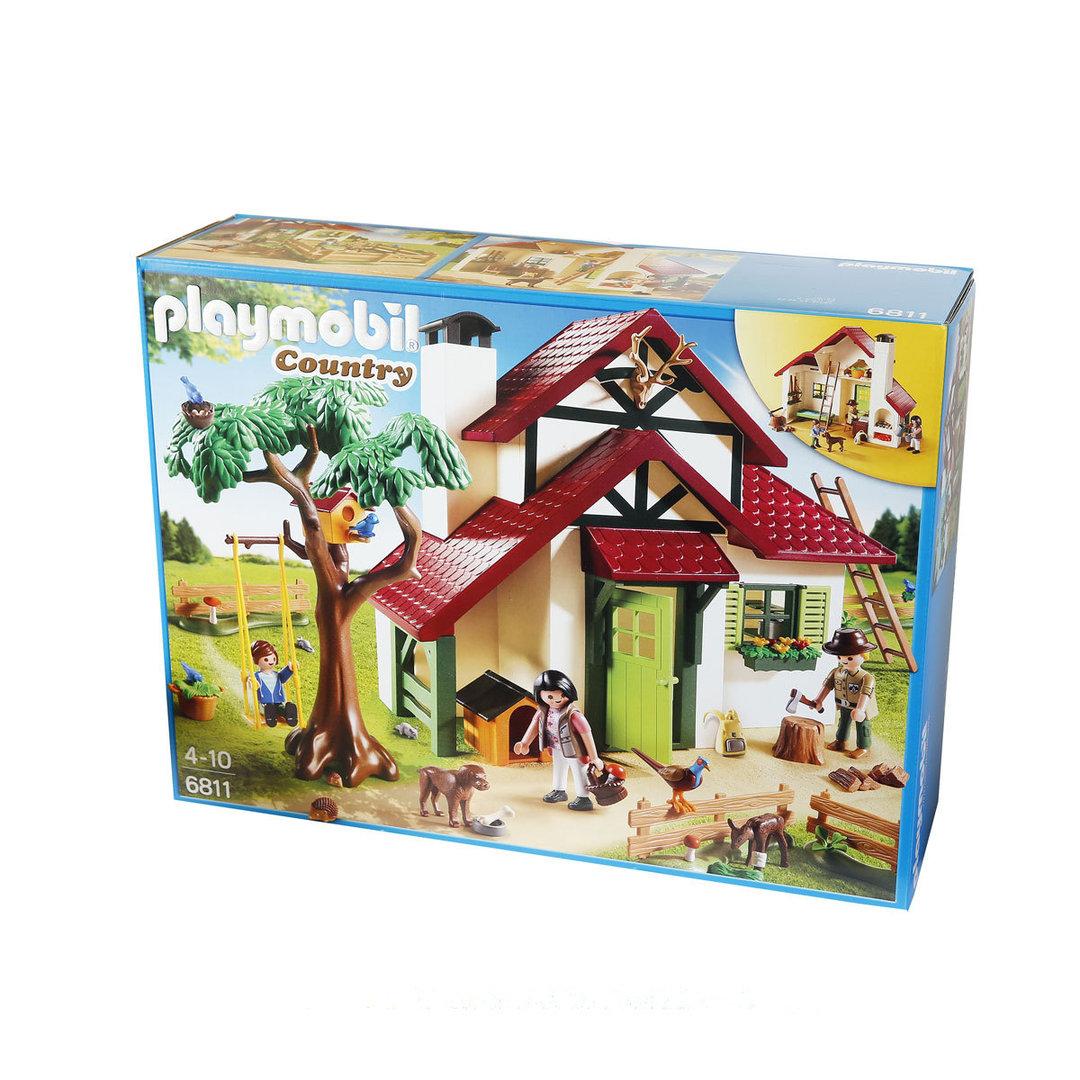 Playmobil 6811 casa del guardabosques for La casa de playmobil