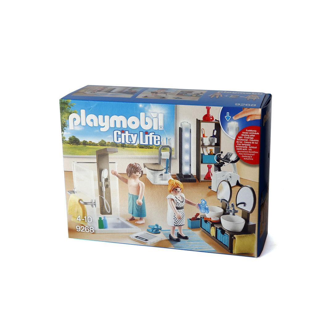 Playmobil 9268 cuarto de ba o moderno for Casa moderna playmobil 9266