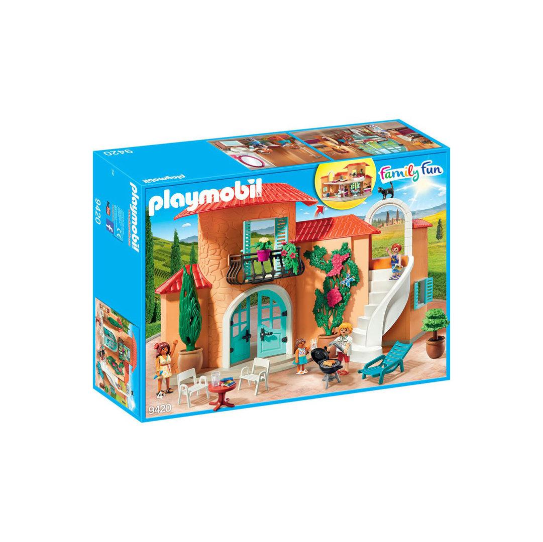 Playmobil 9420 villa de verano for Casa playmobil 123