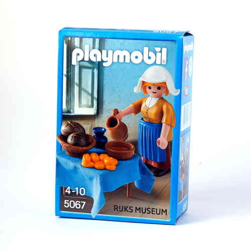 "Playmobil 5067 ""La Lechera"" de Johannes Vermeer ""Exclusiva"""
