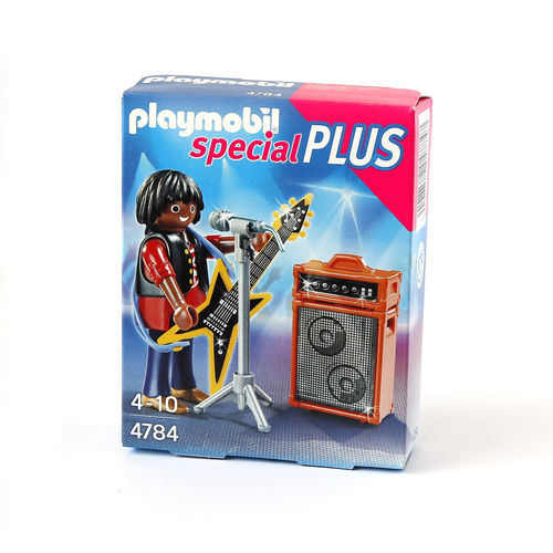 Playmobil Special Plus 4784 guitarrista Rock ¡& Roll!