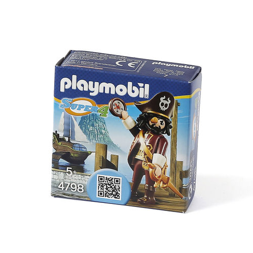 "Playmobil 4798 ""Super 4"" pirata Sharkbeard ¡Super 4!"