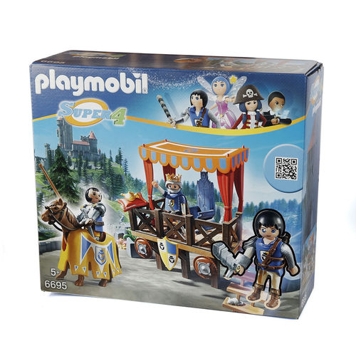 "Playmobil 6695 ""Super 4"" Tribuna real con Alex ¡Super 4!"