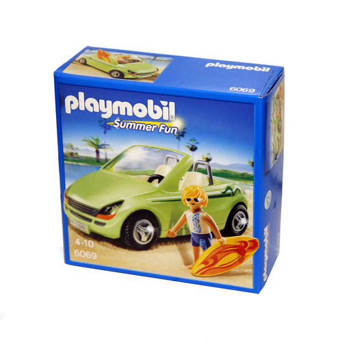 Playmobil 6069 surfero en descapotable