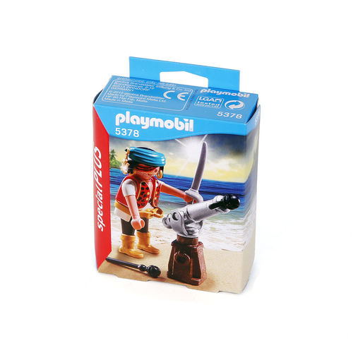 Playmobil 5378 Special Plus Pirata con cañon