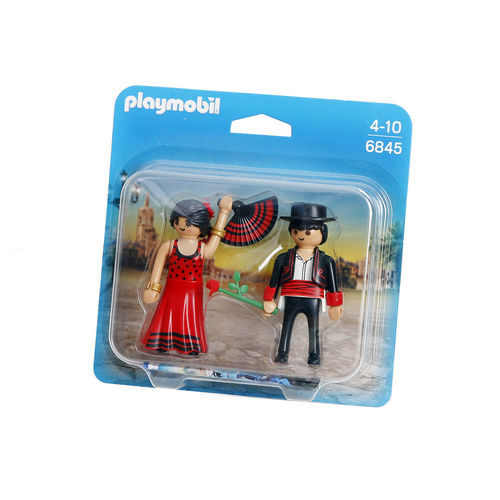 Playmobil 6845 Duo-Pack Bailaores de Flamenco ¡Nuevo!