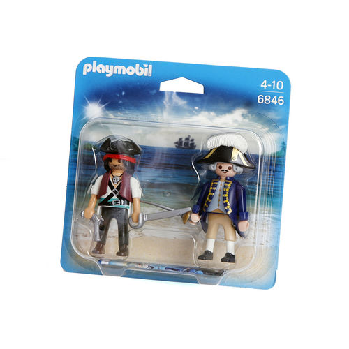 Playmobil 6846 Duo-Pack Pirata y soldado ¡Nuevo!