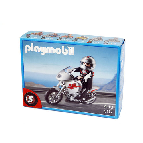 Playmobil 5117 Naked bike ¡Descatalogado!