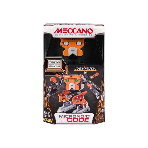 Meccano MEC 6037370 Micronoid Magna ¡Robot programable!