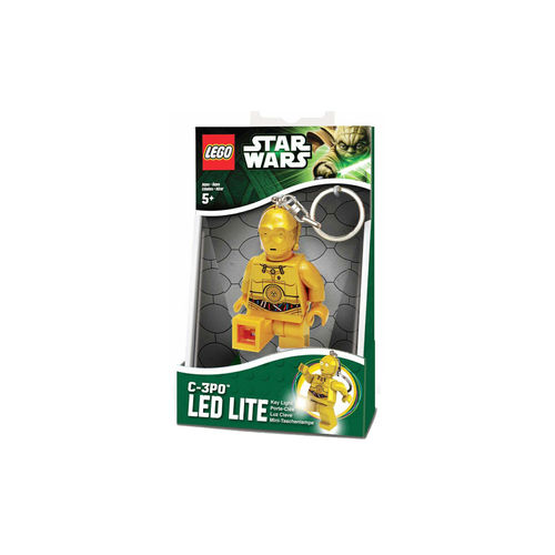 Llavero mini linterna Lego Star Wars - C-3PO ¡Oferta!