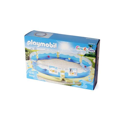 Playmobil 9063 Estanque animales marinos ¡Nuevo!