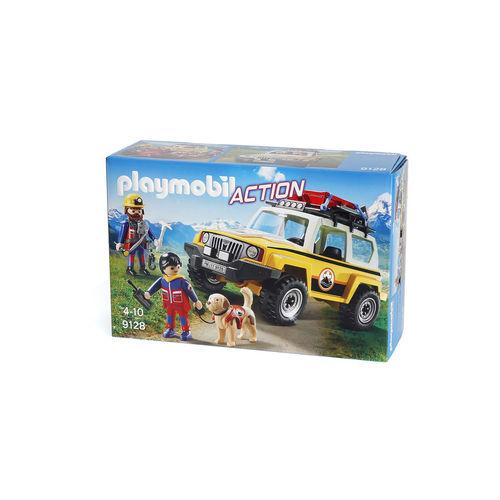 Playmobil 9128 Todoterreno de rescate de montaña ¡Nuevo!