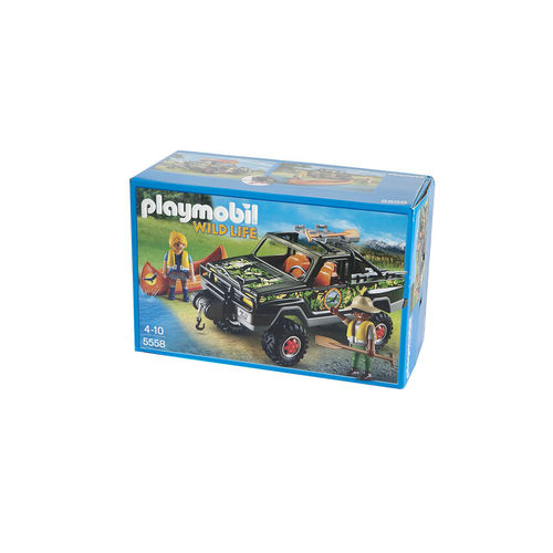 Playmobil 5558 Pick Up de aventura ¡Oferta!
