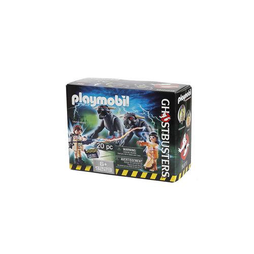 Playmobil 9223 Venkman, Dana y Perros de Gozer ¡Ghostbusters!