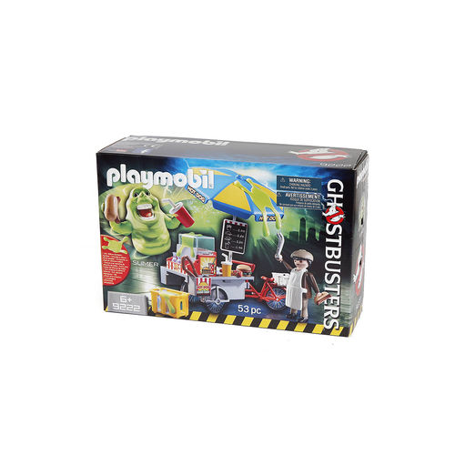 Playmobil 9222 Slimer con Stand de Hot Dog ¡Ghostbusters!