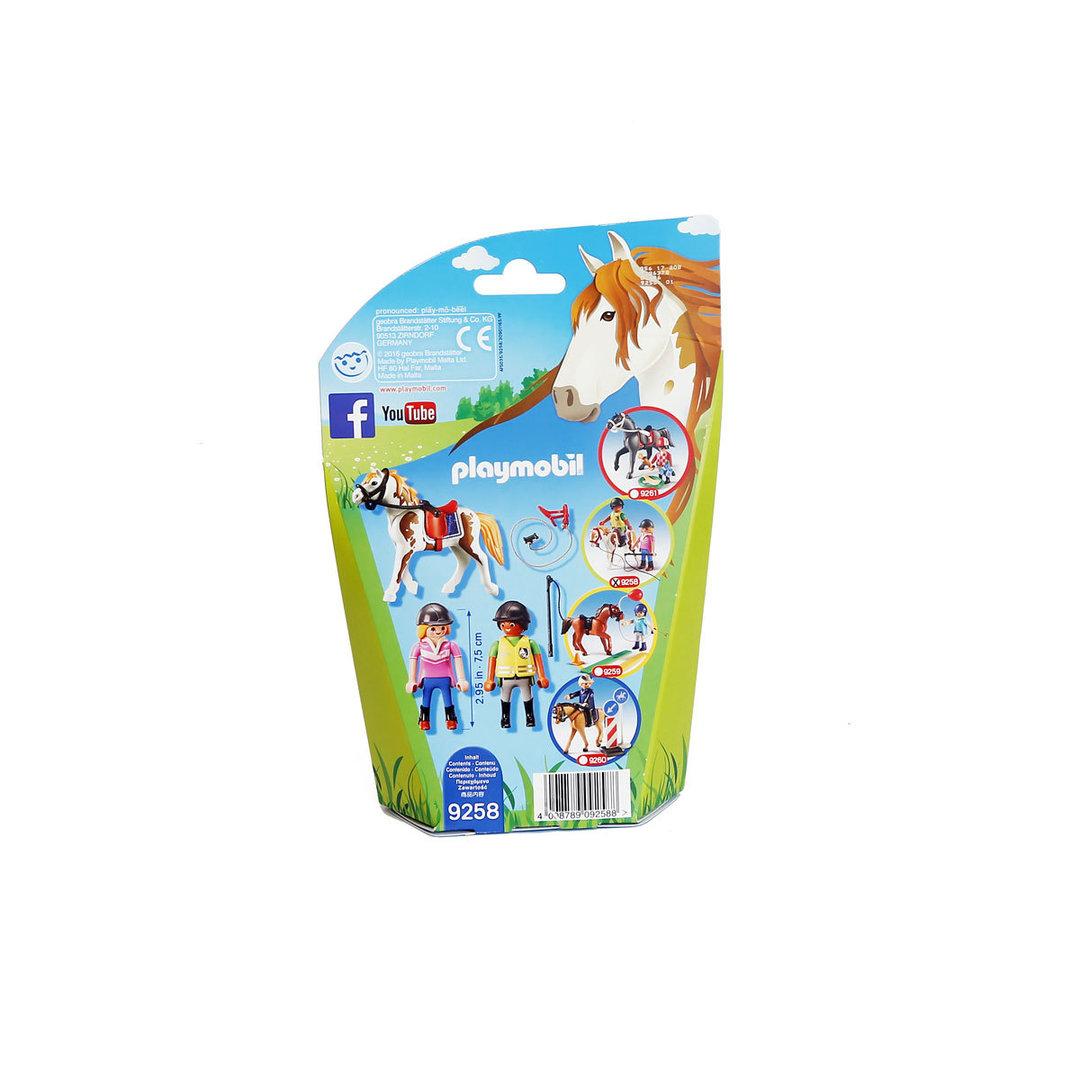 Playmobil 9258 Profesora de equitación ¡Nuevo!