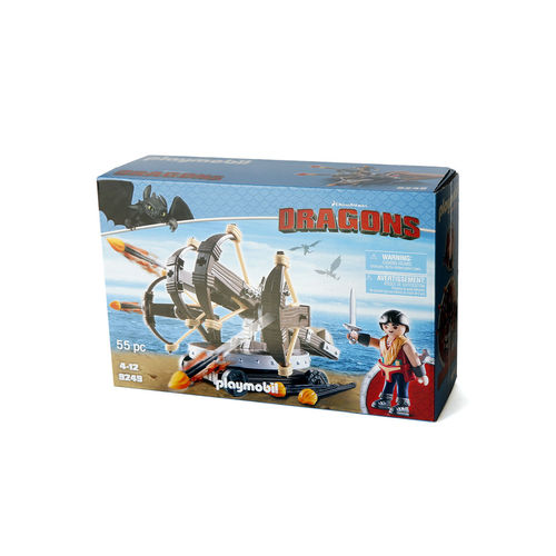 Playmobil 9249 Eret con Ballesta de 4 disparos ¡Nuevo!
