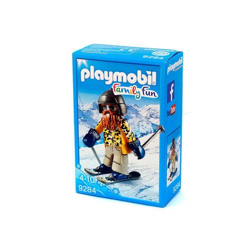 Playmobil 9284 Esquiador con Snowblades ¡Nuevo!