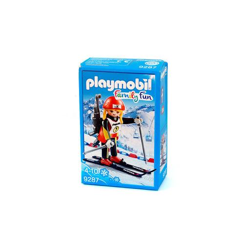 Playmobil 9287 Biatleta ¡Nuevo!