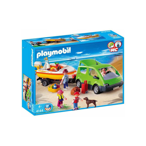 Playmobil 4144 Coche familiar con lancha ¡Descatalogado!