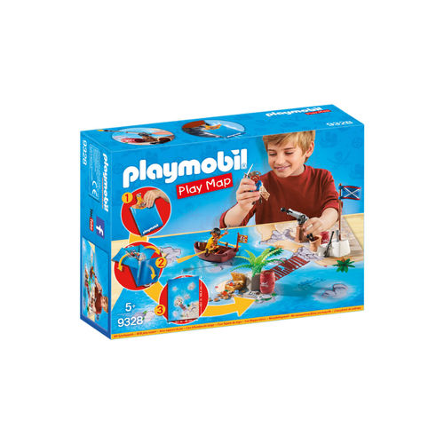 Playmobil 9328 Play Map de Piratas ¡Nuevo!