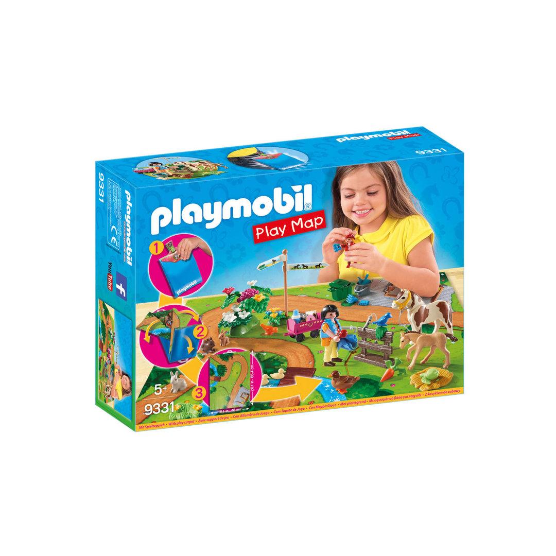Playmobil 9331 Play Map Excursión a caballo ¡Nuevo!