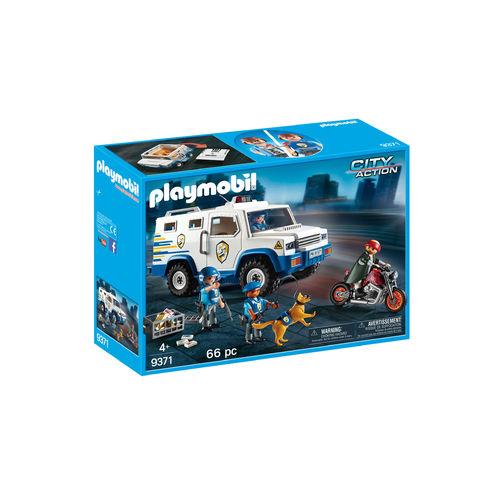 Playmobil 9371 Vehículo blindado ¡Nuevo!