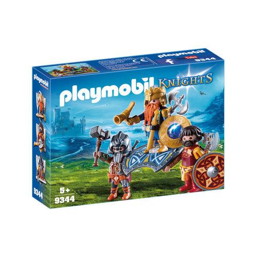 Playmobil 9344 Rey de los enanos ¡Nuevo!