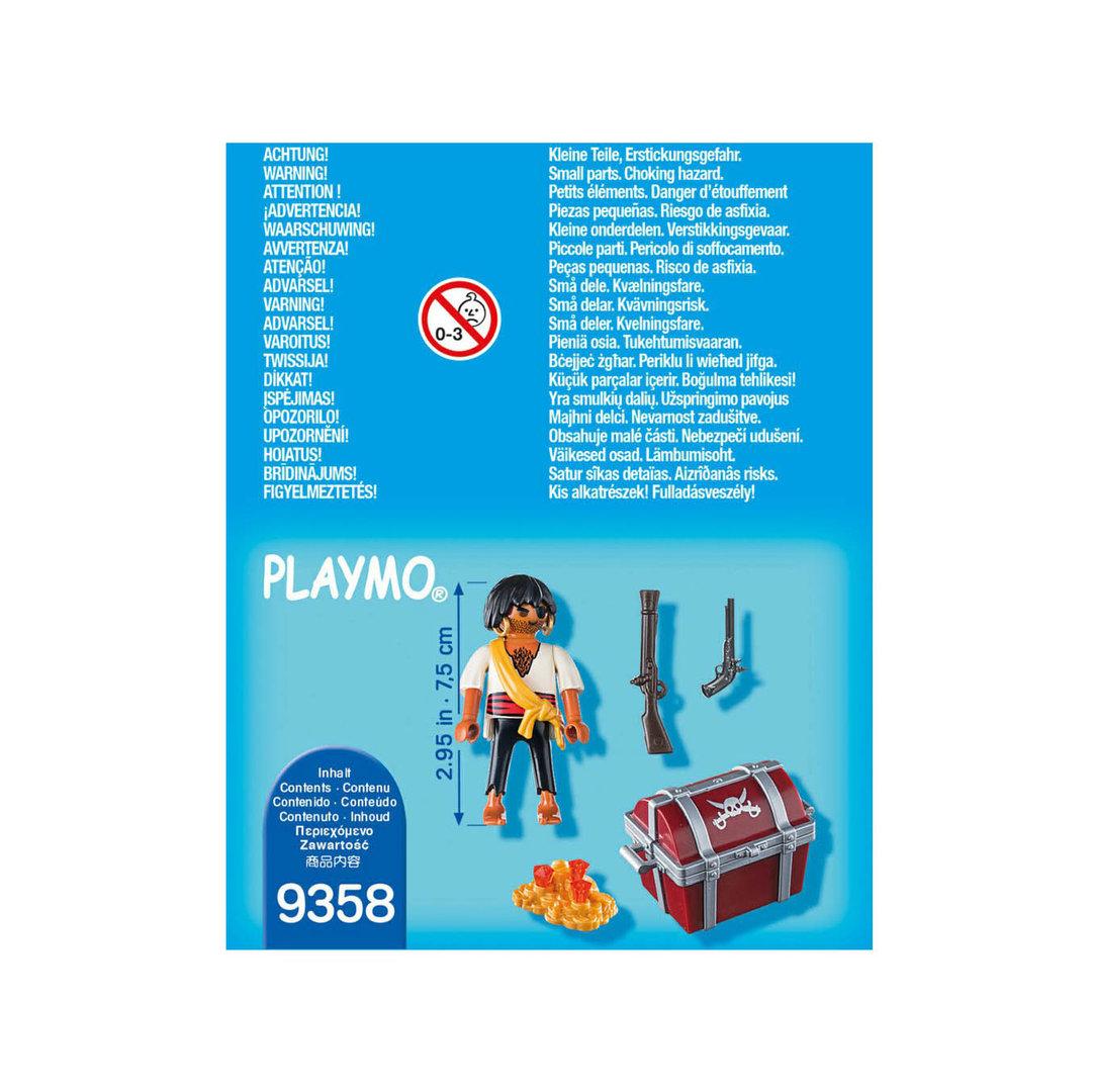 Playmobil 9358 Special Plus Pirata con tesoro ¡Nuevo!