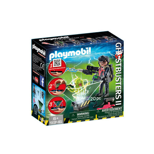 Playmobil 9346 Cazafantasma Egon Spengler ¡Ghostbuster!