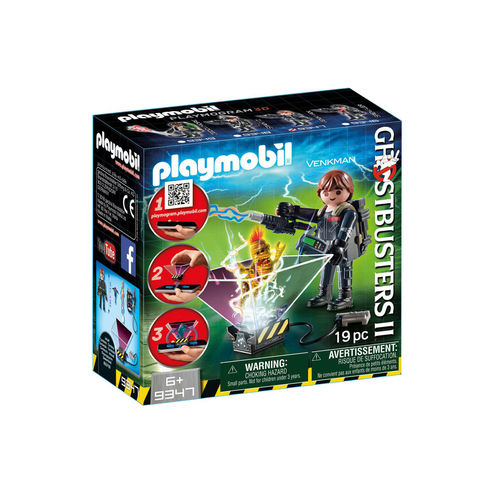 Playmobil 9347 Cazafantasma Peter Venkman ¡Cazafantasma!