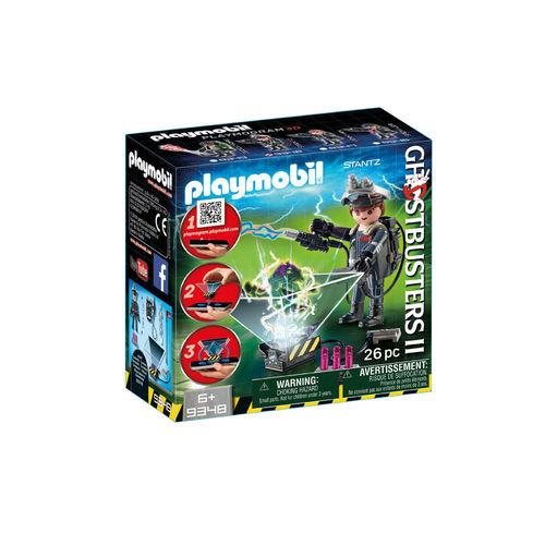 Playmobil 9348 Cazafantasma Raymond Stantz ¡Ghostbuster!
