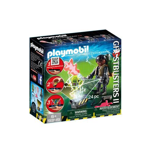 Playmobil 9349 Cazafantasma Winston Zeddemore ¡Ghostbuster!