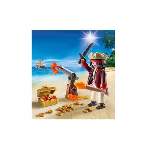 Playmobil 9415 Huevo de Pascua Pirata con cañon ¡Nuevo!