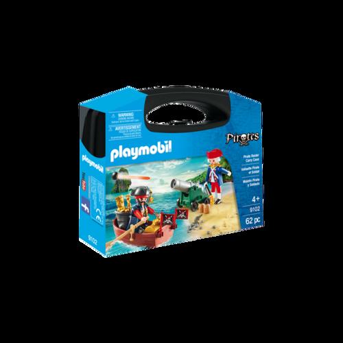 Playmobil 9102 Maletín grande Pirata y Soldado ¡Nuevo!