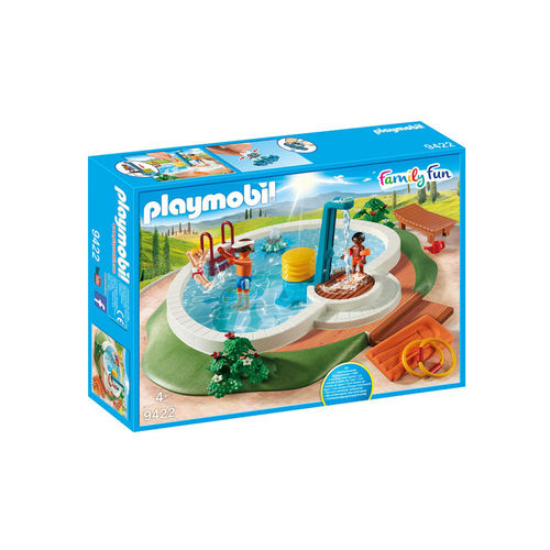 Playmobil 9422 Piscina de verano ¡Family fun!