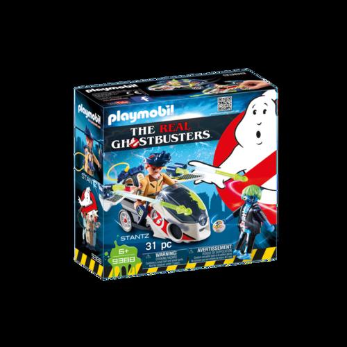 Playmobil 9388 Stantz con moto voladora ¡Cazafantasmas!
