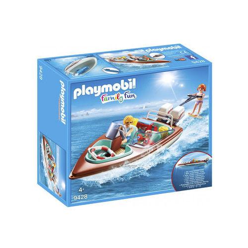 Playmobil 9428 Lancha de recreo con motor ¡Nuevo!