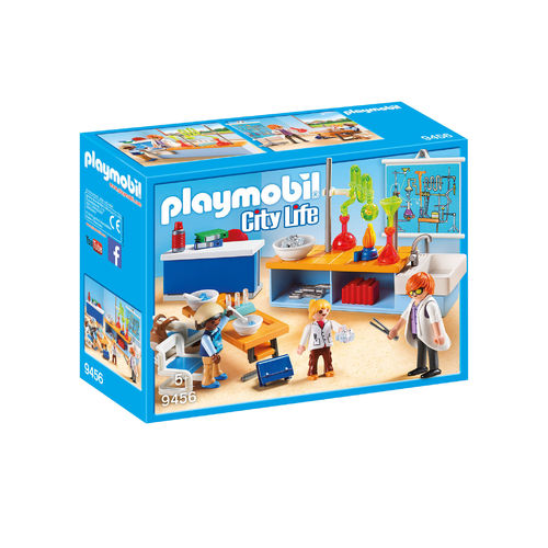 Playmobil 9456 Clase de Química ¡City Life!