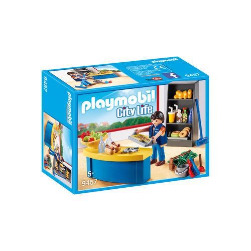 Playmobil 9457 Conserje con Kiosko ¡City Life!