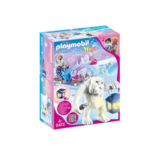 Playmobil 9473 Troll de las nieves con trineo ¡Magic!
