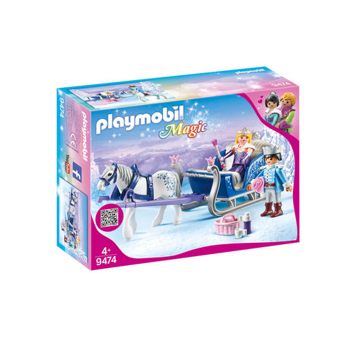 Playmobil 9474 Pareja real con trineo ¡Magic!