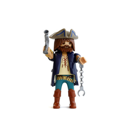 Playmobil Pirata con pistola y esposas ¡Mercadillo!
