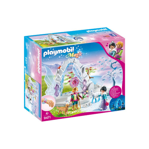 Playmobil 9471 Portal de cristal al mundo de Invierno ¡Magic!