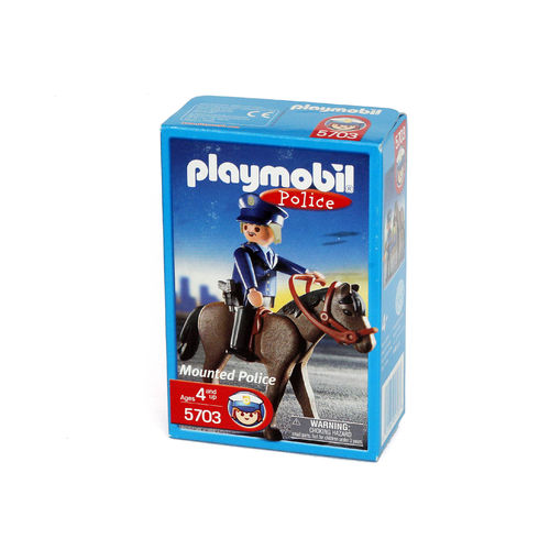 Playmobil 5703 Policia montado ¡Exclusivo!