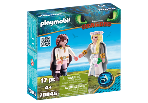 Playmobil 70045 Astrid y Hicks ¡Dragons!