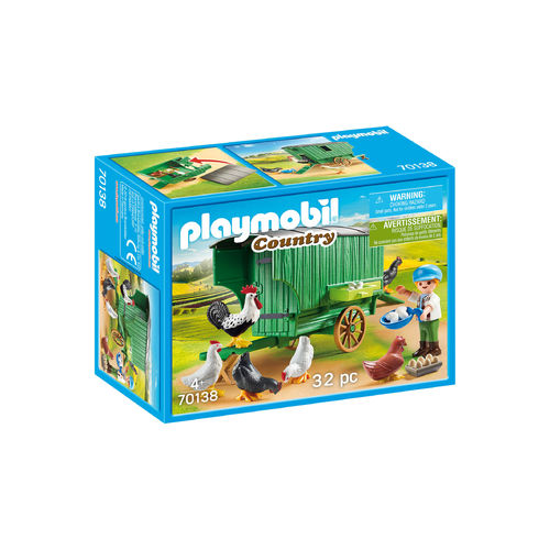 Playmobil 70138 Carromato gallinero ¡Country!